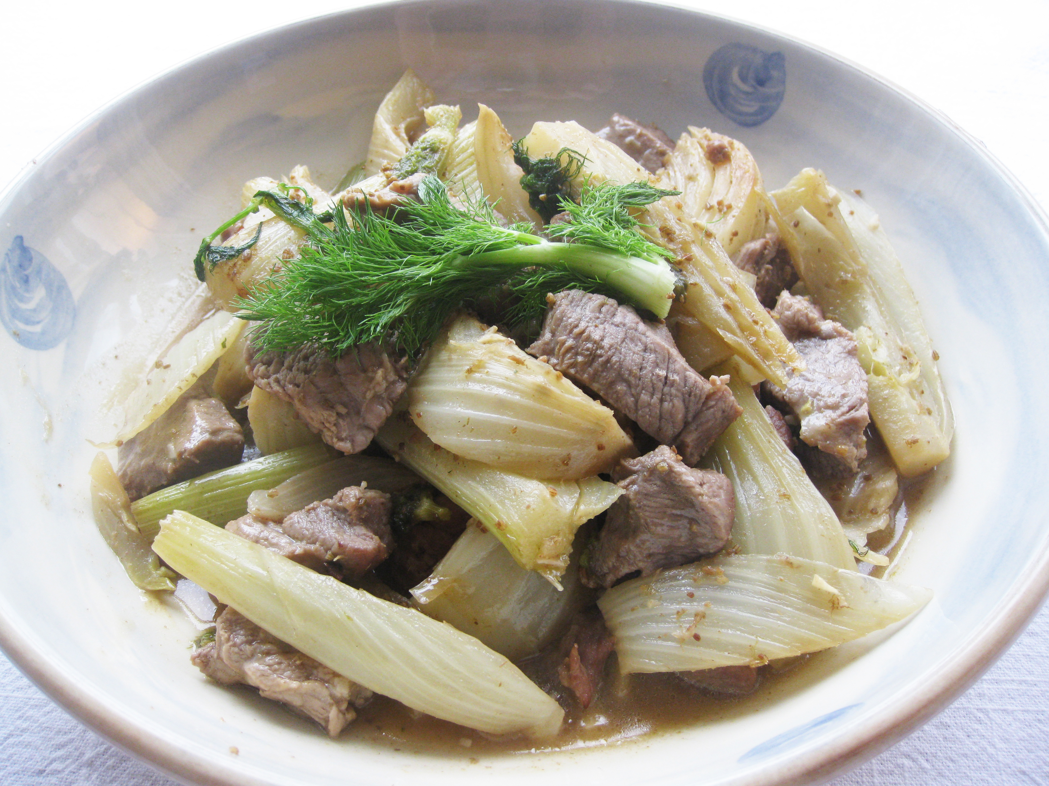 how to cook fennel stalks