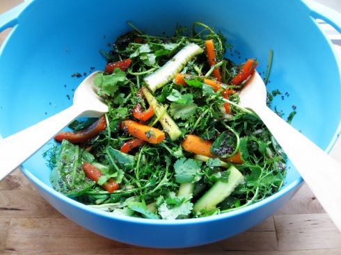 Chia seed salad