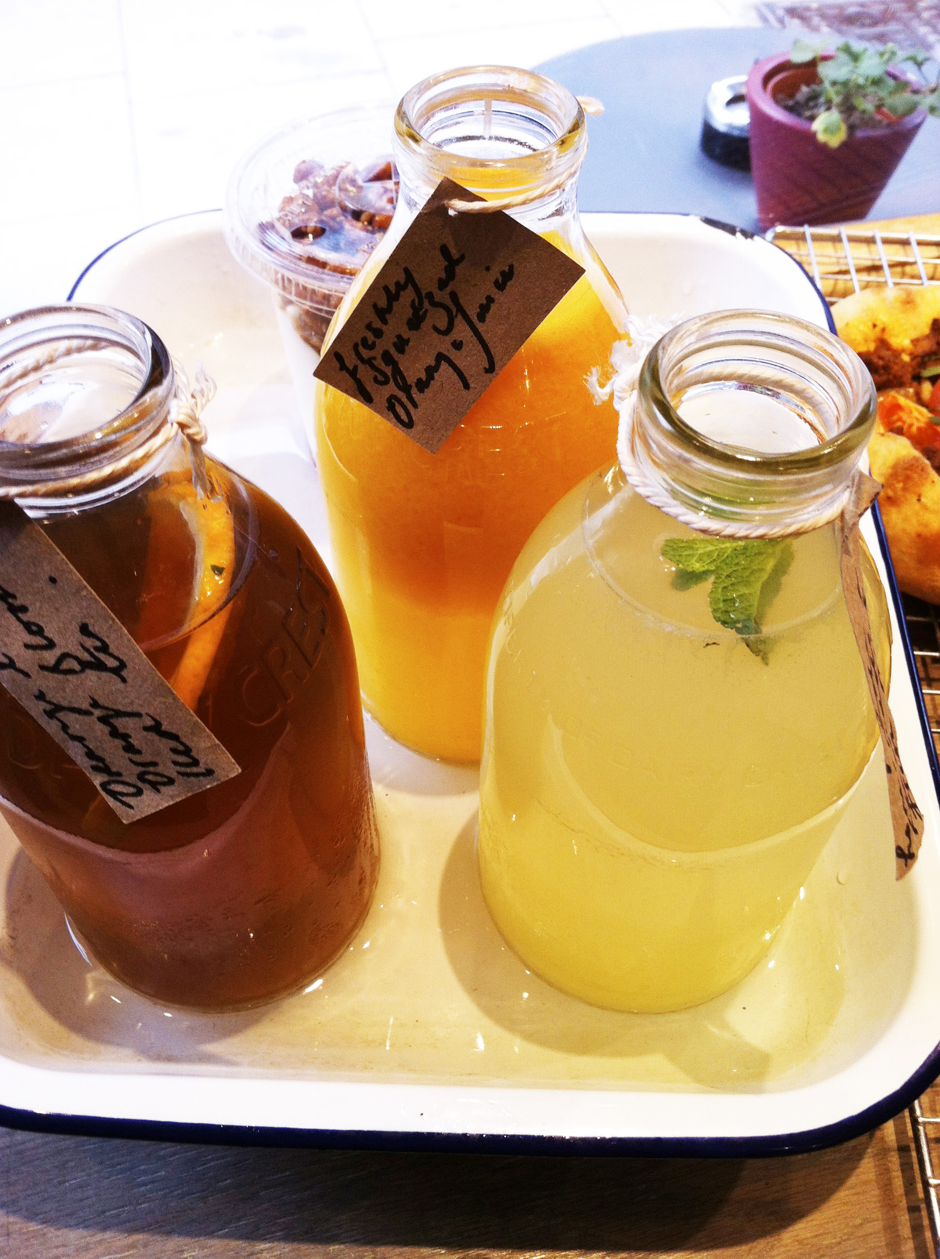 honey and co juices