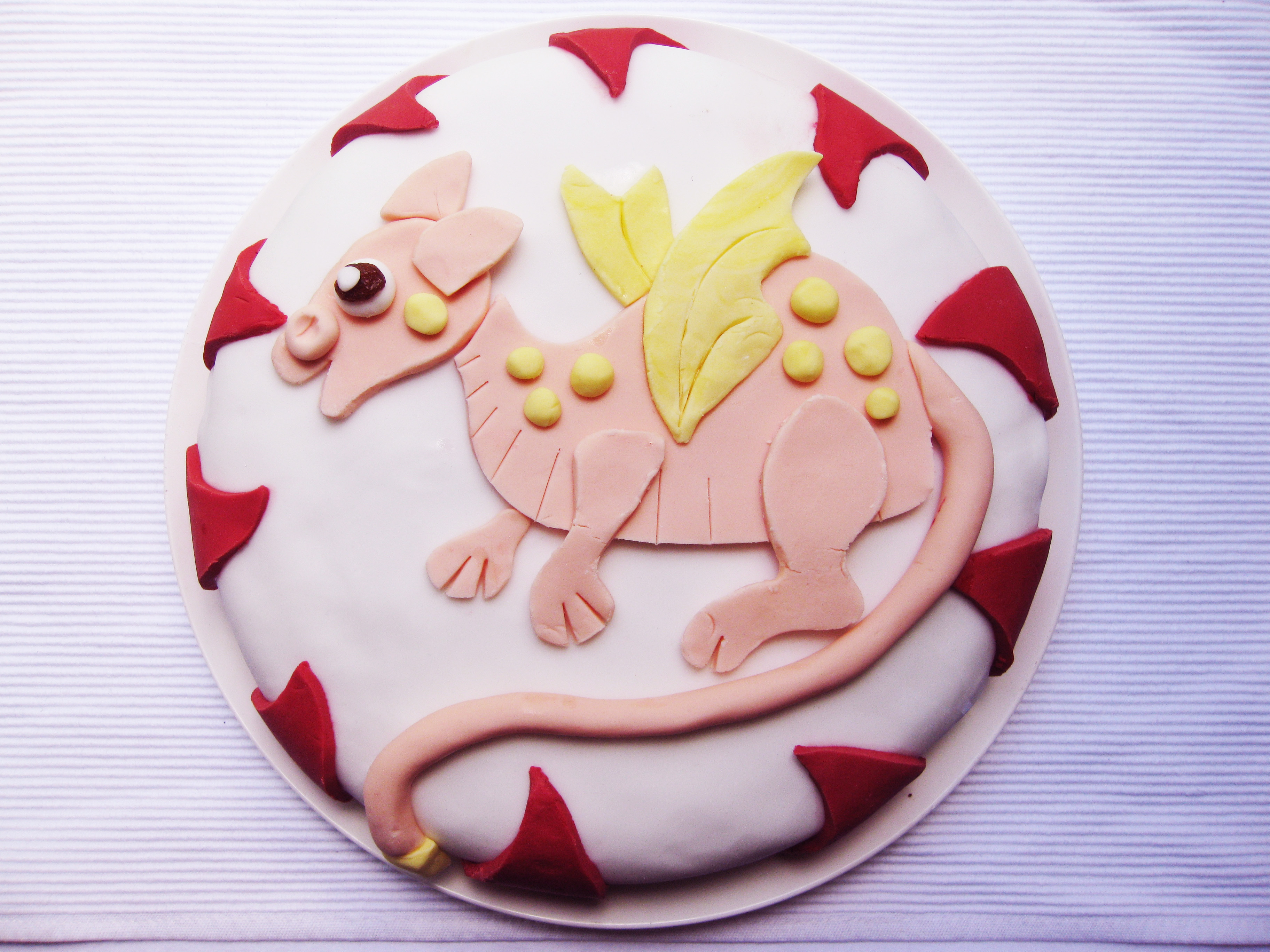 ioc dragon cake