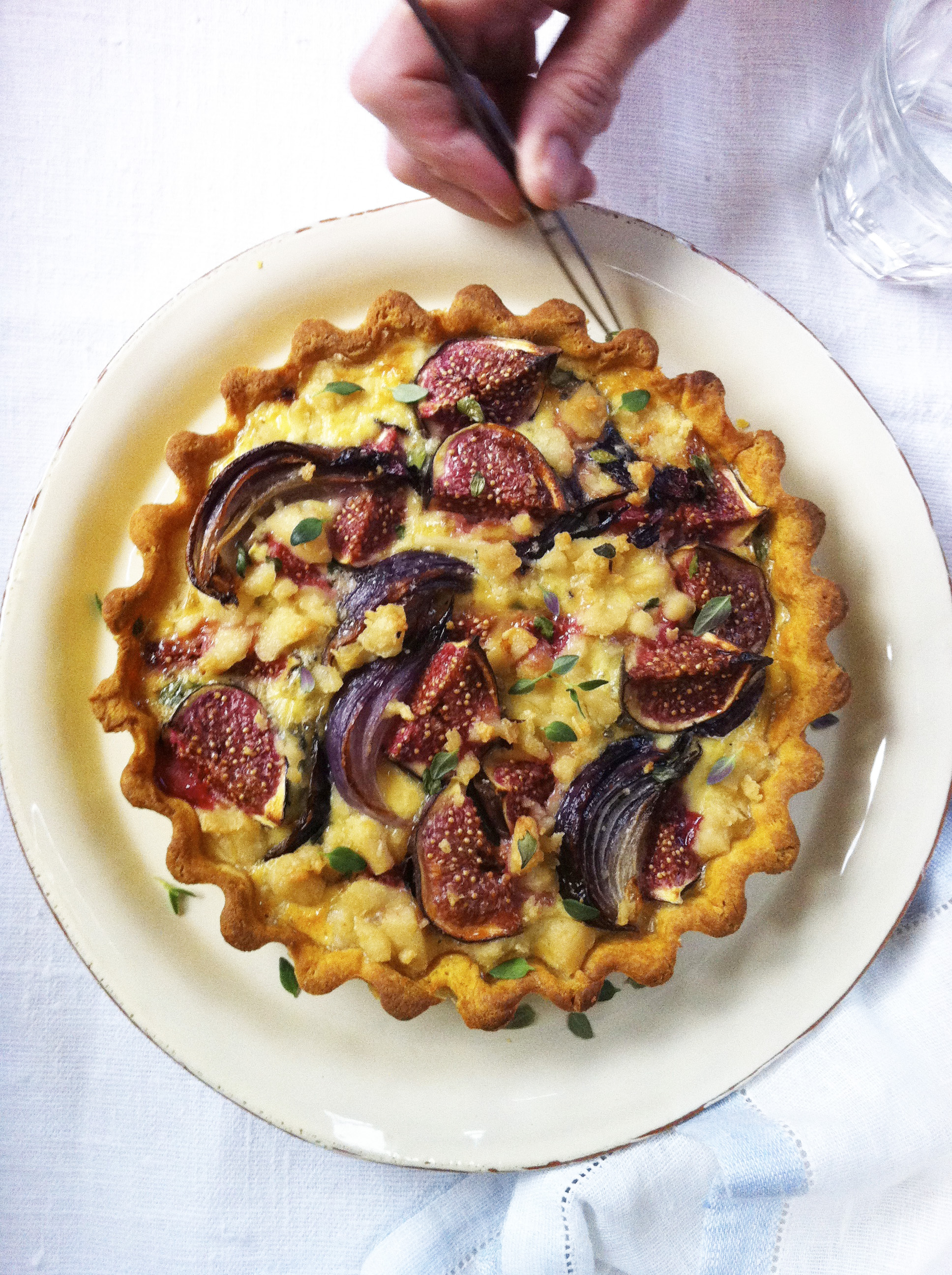fig tart shoot