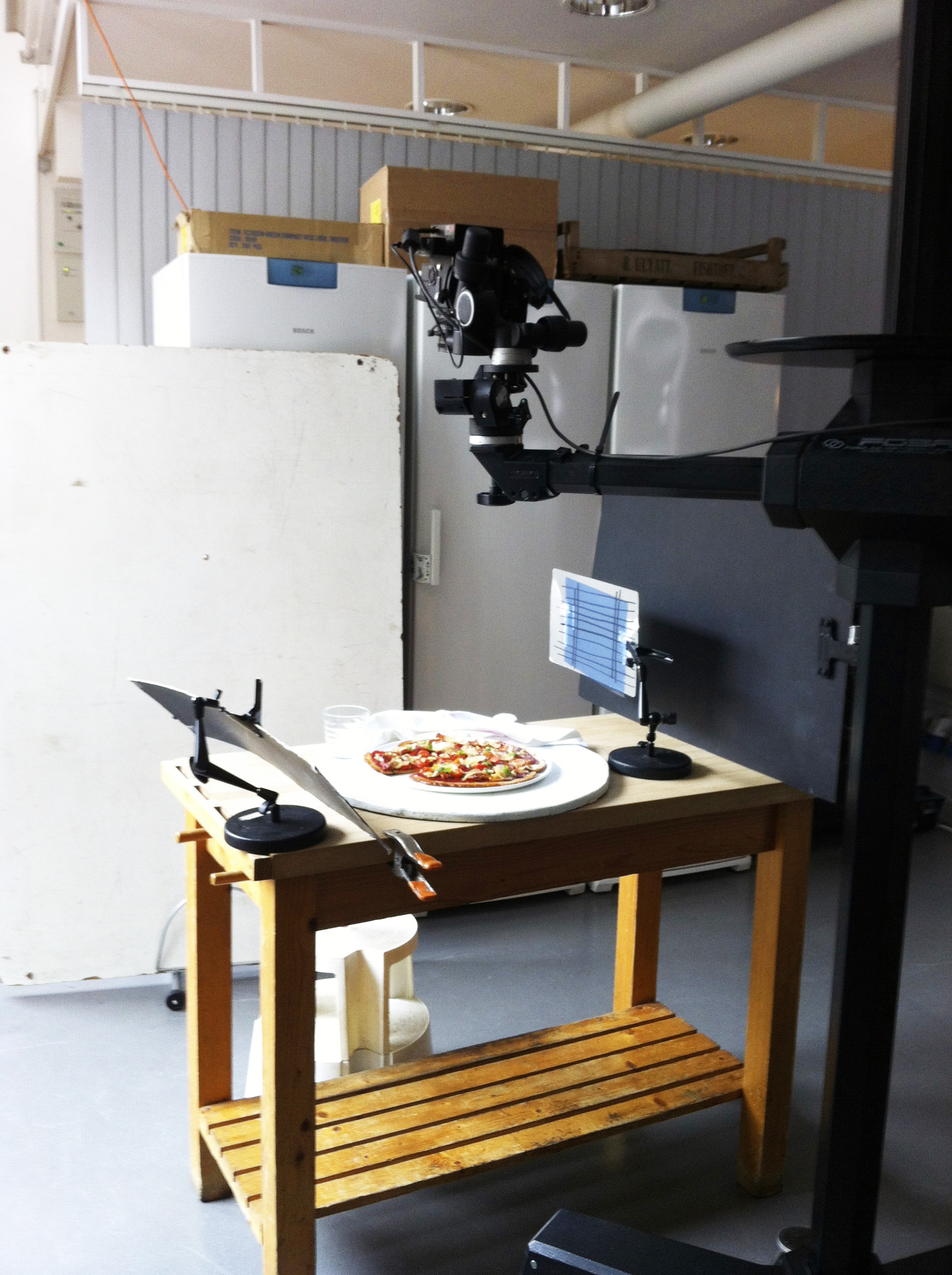 pizza on shoot 2