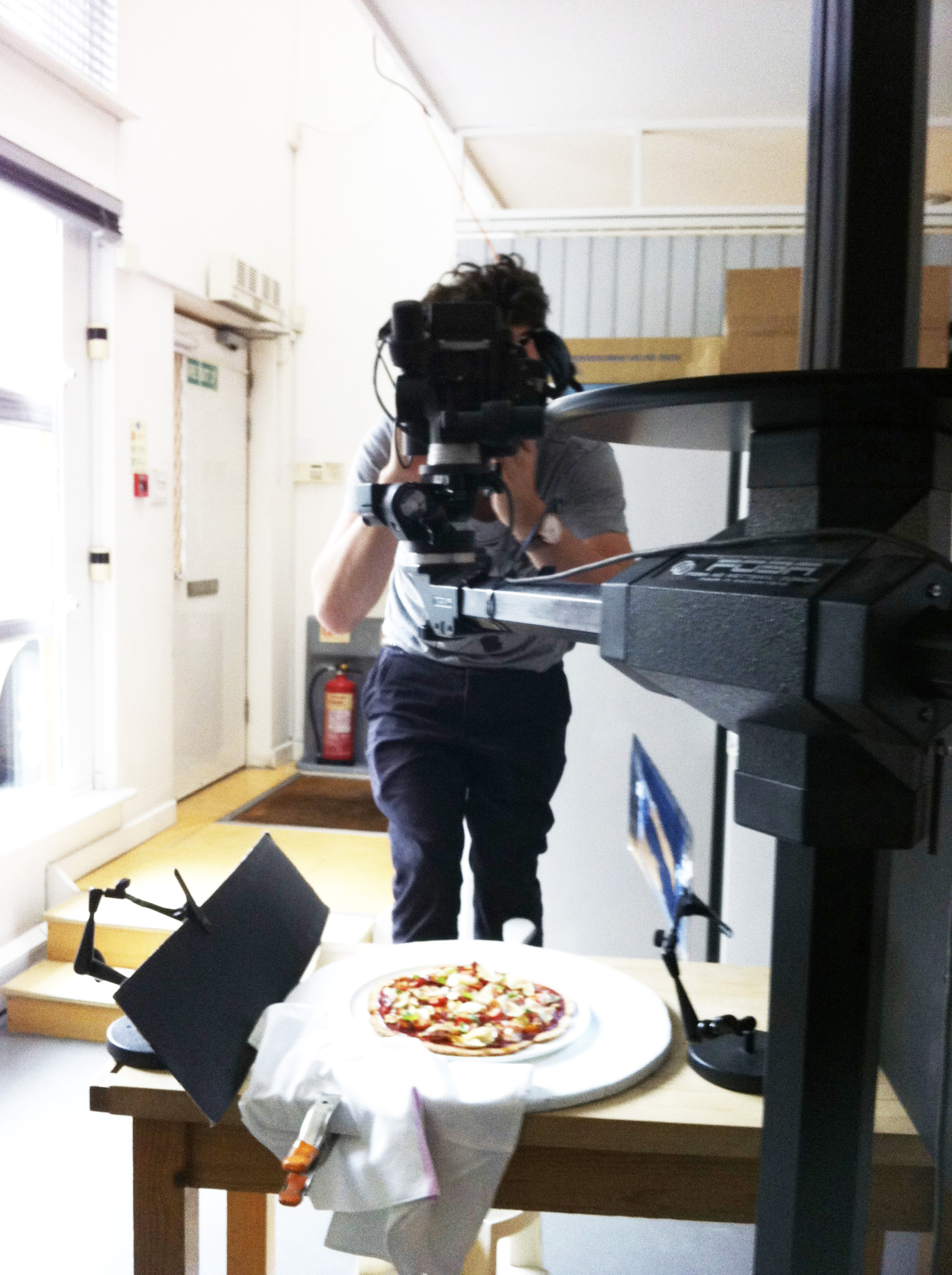 pizza on shoot 3
