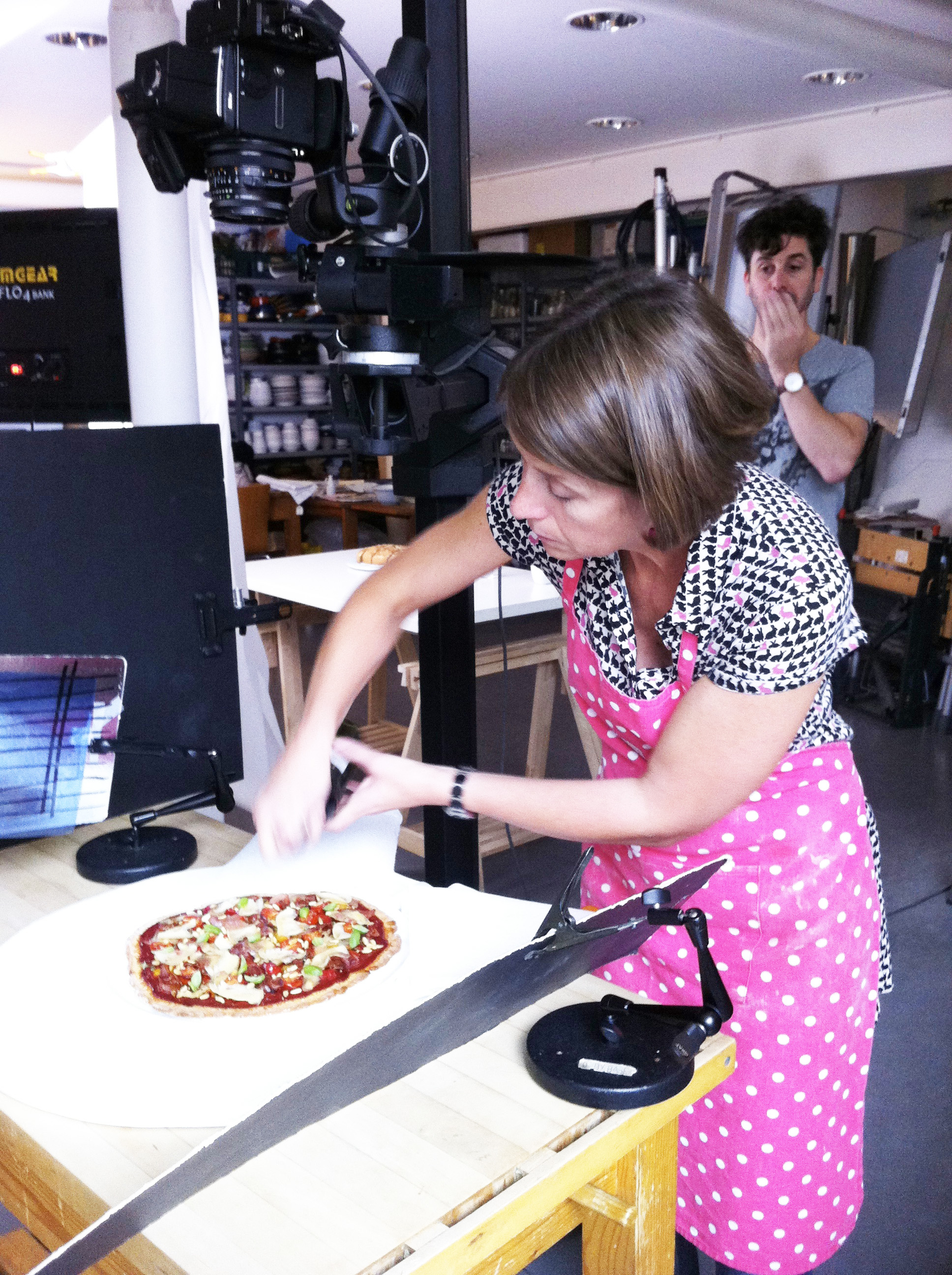 pizza on shoot 4
