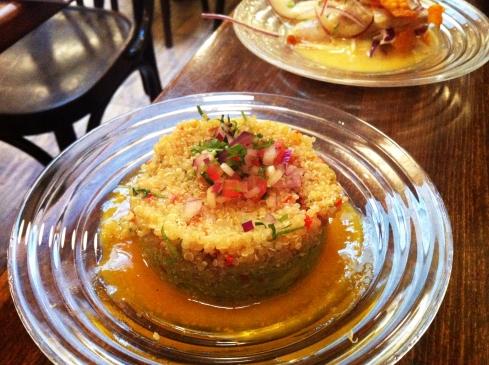 Ceviche quinoa