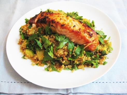EFS Salmon Quinoa